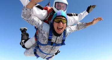 Как лучше совершить первый прыжок с парашютом?
